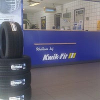 Photo taken at Kwik-Fit by Vincent d. on 10/14/2011