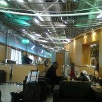 Photo taken at Melina Merkouri Lounge by greekscouser on 11/23/2011