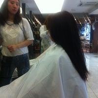 Photo taken at 박승철헤어스투디오 by Jasmine L. on 6/10/2012