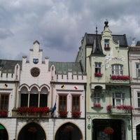 Photo taken at Krakonošovo náměstí by Josef H. on 8/9/2012