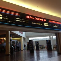 Photo taken at Regal Cinemas Arnot Mall 10 by Theodore D. on 5/14/2012