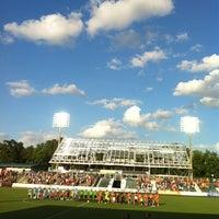 Photo taken at WakeMed Soccer Park by Ryan B. on 6/2/2012