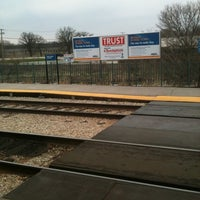 Photo taken at Metra - New Lenox by Joshua F. on 4/10/2011