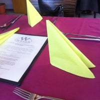 Photo taken at Wega Restaurant by Gabriela P. on 3/16/2012