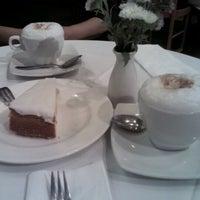 Photo taken at Café del Palacio by Perla A. on 6/28/2012