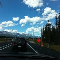 Photo taken at Continental Divide - Alberta/BC Border by Joyce M. on 8/26/2011