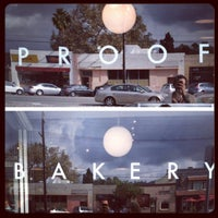 Photo taken at Proof Bakery by Daniel C. on 11/19/2011