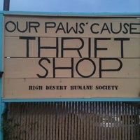 Photo taken at Our Paws Cause Thrift Shop by Mary P. on 11/11/2011