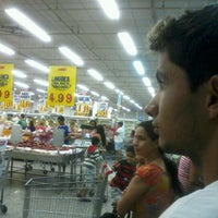 Photo taken at Supermercados Guanabara by Marcelle C. on 5/27/2012