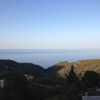 Photo taken at Kalamaki by Ευγενία Ξ. on 8/22/2012