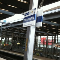 Photo taken at Parramatta Station by Jason B. on 7/19/2011