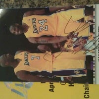 Photo taken at Lakers Locker Room by Vichearo L. on 4/7/2012