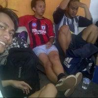Photo taken at Futsal 1818 Ceria by triman d'Japra on 2/19/2012