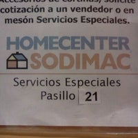 Photo taken at Homecenter Sodimac by Marjorie A. on 9/3/2011