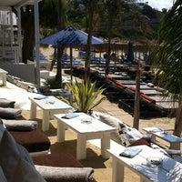 Photo taken at Nammos Mykonos by amalia k. on 6/12/2011