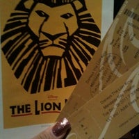 Photo taken at THE LION KING in Las Vegas by Lauren B. on 12/7/2011
