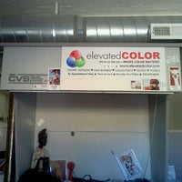 Photo taken at Elevated Color by Joan O. on 9/23/2011