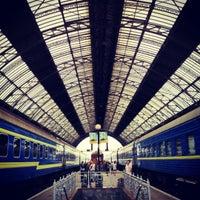 Photo taken at Lviv Railway Station by Eugene on 8/11/2012