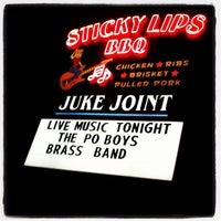 Photo taken at Sticky Lips BBQ Juke Joint by Joe S. on 2/11/2012
