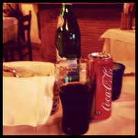 Photo taken at Ristorante Pizzeria Euganeus by Flavio M. on 5/4/2012