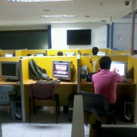 Photo taken at 4/F Shakey's Call Center Fortune Bldg by Eric Smith C. on 1/2/2012