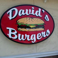 Photo taken at David's Burgers by Roger R. on 5/4/2012
