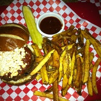 Photo taken at H2 Gourmet Burger Co. by Staci J. on 9/15/2011