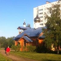 Photo taken at Храм святого Николая Чудотворца by Mr.G on 8/30/2012