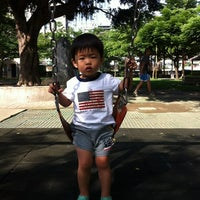 Photo taken at 中原公園 by Bevis L. on 5/18/2012