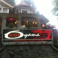 Photo taken at Oyama Sushi by Louv K. on 6/18/2012