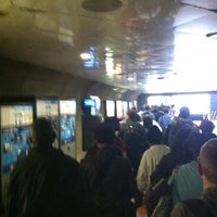 Photo taken at Judiciary Square Metro Station by Brandon R. on 9/6/2011