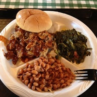 Photo taken at Chimneyville Smokehouse by Mark P. on 7/16/2012