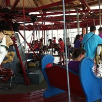 Photo taken at Greenport Antique Carousel by Jake R. on 9/3/2011