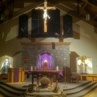 Photo taken at St. Joan of Arc Catholic Church by Tonya K. on 4/9/2011
