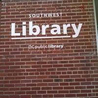 Photo taken at DC Public Library - Southwest by BigRoe #. on 4/13/2012