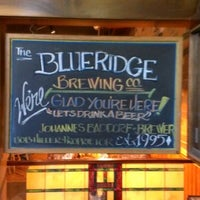 Photo taken at Blue Ridge Brewing Company by Legend H. on 9/1/2012