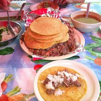 Photo taken at Gamero Barbacoa y Consomé by Gustavo Q. on 8/28/2011