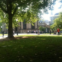 Photo taken at Birmingham Cathedral and Churchyard by Ben W. on 6/14/2011