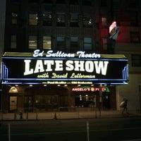 Photo taken at Ed Sullivan Theater by @24K on 12/20/2011