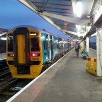 Photo taken at Shrewsbury Railway Station (SHR) by Mike B. on 10/14/2011
