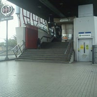 Photo taken at Metro Rojas Magallanes by Paulo G. on 10/11/2011