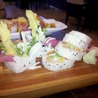 Photo taken at Odaku Sushi by Andrea F. on 2/25/2011
