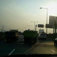 Photo taken at Jalan Tol Pelabuhan by Andrew W. on 5/10/2011