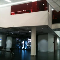 Photo taken at University of Salford (MediaCityUK Campus) by Colette B. on 1/27/2012