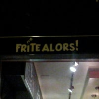 Photo taken at Frite Alors! by Francois P. on 8/3/2012
