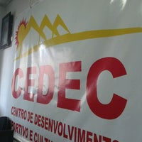Photo taken at Cedec Curió by Breno P. on 4/13/2012