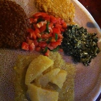 Photo taken at Ethiopic by Nicole M. on 8/11/2012