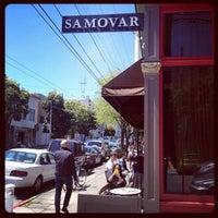 Photo taken at Samovar Tea Lounge by Scott M. on 4/28/2012