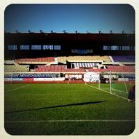Photo taken at Stade olympique de la Pontaise by Carlito C. on 6/22/2012