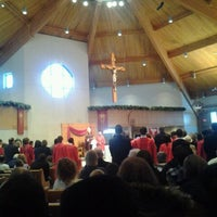 Photo taken at St. John the Evangelist by Ryan M. on 1/21/2012